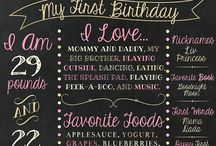 Agnes / First birthday