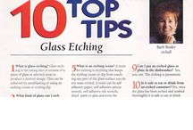 etchall® Tips and Ideas! / Barbee is the Queen of Etching and has written many books and has a passion to give all the educational tips and tools to create your own work of etching art.  See www.etchall.com for more information and ideas.  Celebrating 80 years of excellence with original etchall etching products