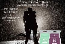 Angeline's Scentsy Mixology / A wonderful collection of Scentsy wax mixes. Message me if you'd like to try some or check out my website, www.angelslegacy.scentsy.ca to purchase the wax you will need or any other product we carry. Thank you for your support <3