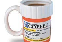 Novelty Coffee Mugs / by Amanda Louchart