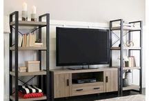 σαλόνι tv τζακι