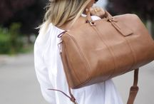 En Route Chic Outfits / What to wear while you're getting there...