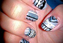 """My nail art design / Las manicuras que me hago inventadas o """"copiadas"""", pero hechas por mi"""