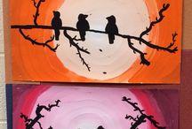 slunce a ptáčci