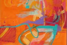 bold colored abstract / by Karen Rush