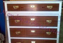 Nuestros trabajos de restauracion / Restauracion de muebles y objetos