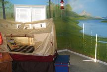 The Hobbit room / Ricky's Bedroom since he can't tell us no.