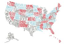 US States - graphic inspirations