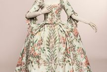 18th Century Ikat Gowns