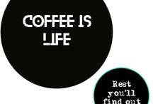 Coffee is Life / Everything Coffee, and yanbodon art.
