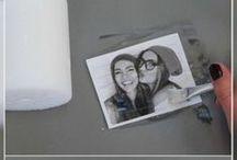 Svíčky s fotografiemi