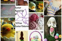 Crochet Pattern Round UPs / Round ups of assort Crochet patterns.