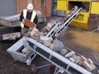 Conveyors / Conveyors from HSS will help you move loads and materials quickly and efficiently across short distances.   #toolhire #equipmenthire #hss #hsshire #conveyor #conveyorhire