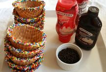 Sundae Birthday Party / I am hosting a sundae birthday party for my soon to be 6-year-old daughter in 10 days. Here's to getting a bunch of low-cost and quick ideas on the fly. / by Ashley Lemaster