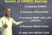 Reasons why we love cardio  / Cardio is a good form of exercise to help you reach mental and physical goals.