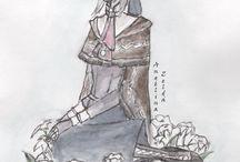 Dark souls and Bloodborne / My art :)