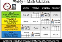 Daily five / Reading rotations