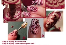 Nail colours /designs