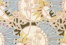 Graphic Design / Graphic Design, Patterns, Textile Patterns, Illustration, Vintage Paper