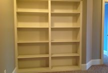 Built Ins and Shelving