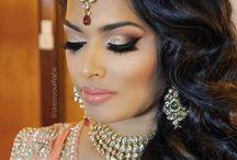Asian/arabic makeup