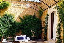 Garden, patio