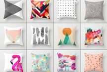 Throws and cushions