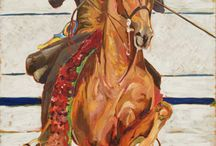 Horses In Art- American Saddlebred 1 (It's Show Time!)