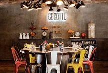 Rustic Restaurants & Londoner / Elements of interest-  Restaurant factors - new design - also for londoner
