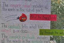 Grammar Ideas for the Classroom / Grammar ideas and activities for the classroom.