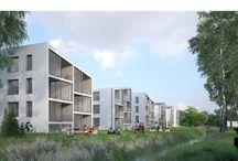 multifamily residential villas, Leśnica / multifamily residential villas, Leśnica, Poland, by Major Architekci