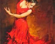 Танец,экспрессия