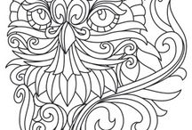 Adults Coloring Papers