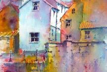 buildings for watercolours