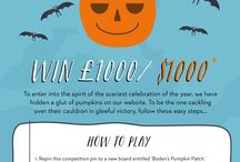 Boden Pumpkin Patch / Hunt the glut of Halloween pumpkins hidden on our website to bag a spook-tacular prize! Hear the howl of the owl on twit-twit-twitter for devilishly sneaky clues -  @bodenclothing or @bodenusa. / by Boden