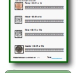 Printable Money Worksheets / Coins, skip counting, and a money video. / by PrintNPractice.com