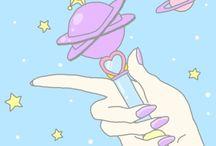 Illustration - Sailor Moon & Creamy Mami