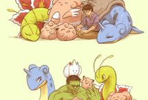pokemon with superheroes