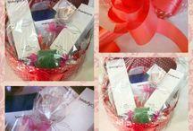 regalos/cesta cremas faciales / regalo para cuidado facial