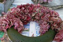 bloemen kransen