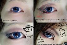 Cosplay eyes