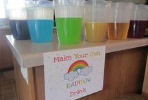 Julianne's Rainbow Birthday Party / Ideas I collected for my daughter's 2nd birthday party!  Final party pics at http://craftyparty.webs.com/rainbows