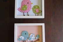 hanger, frame and wall art