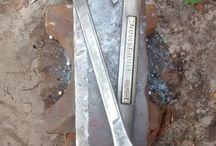 Ax made from old spanners