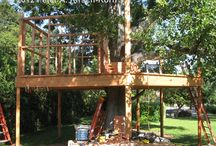 Treehouse! / Ideas for our treehous / by Beth Kyle