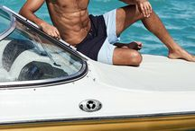SUMMER 2015 / Male models + sea + sun + beachwear designs