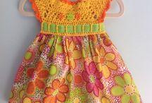 Платья комбинированые