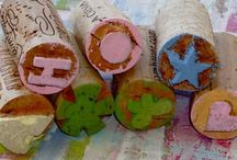 wine cork ideas / by Marcia Flores
