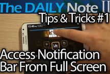 Galaxy Note 2 / Tips & Tricks Videos for the Samsung GALAXY Note II by The Daily Note II/3 YouTube Channel