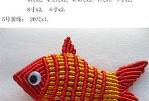 Macrame fish